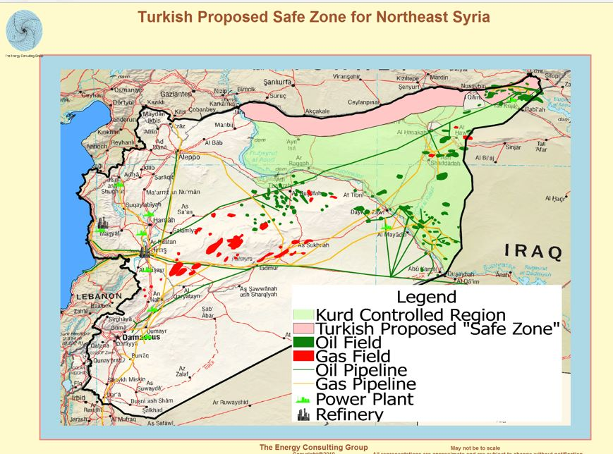 As long as PKK/YPG occupies oil fields, Turkey will persuade operation in deeper Syria