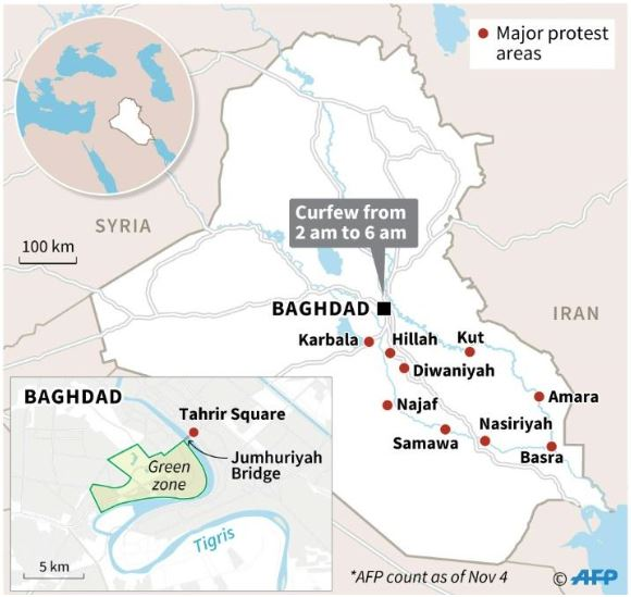 Iraqi Protests and Iran influence in region